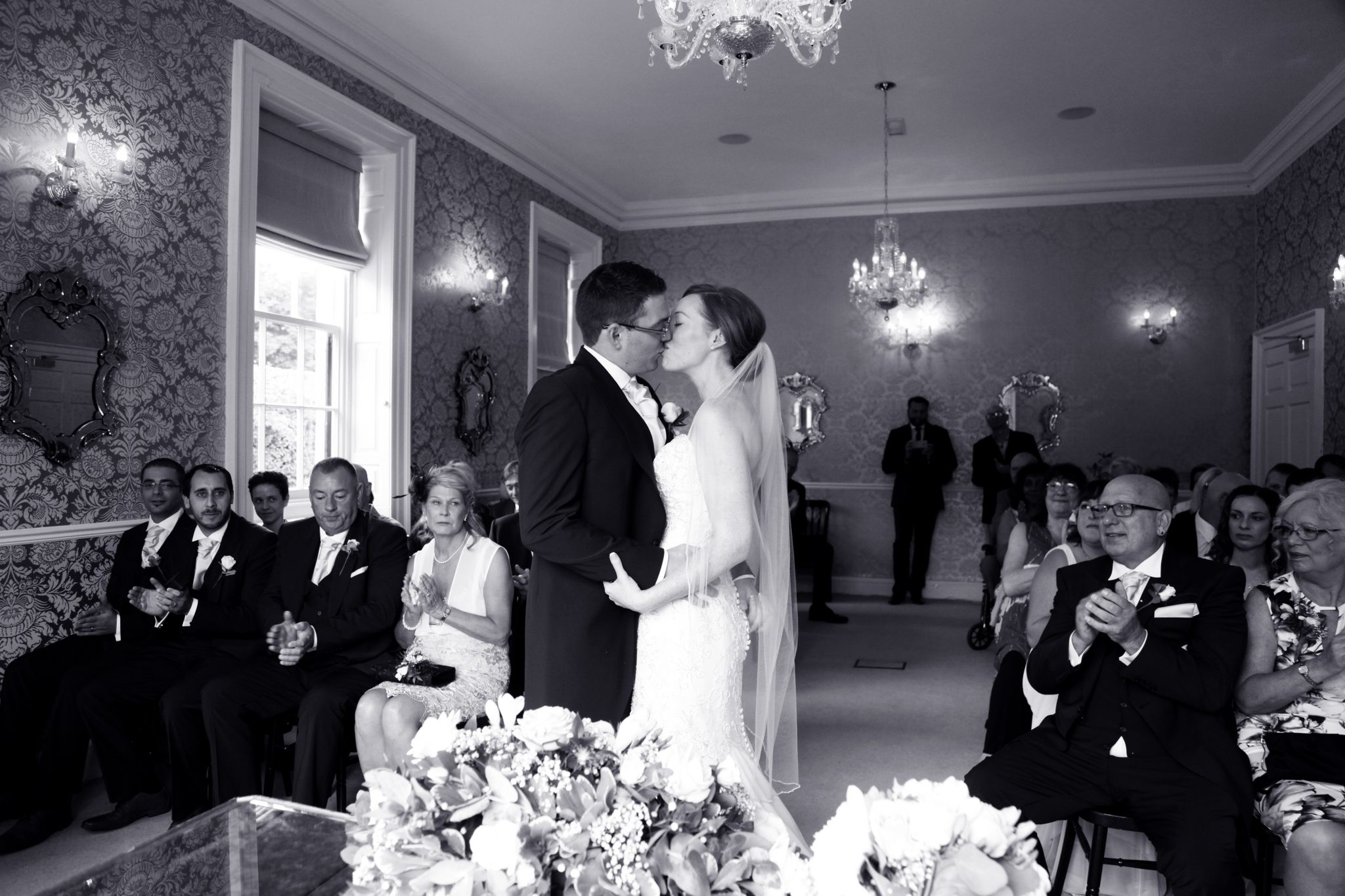 First Kiss, Wedding Ceremony, Eastclose Hotel