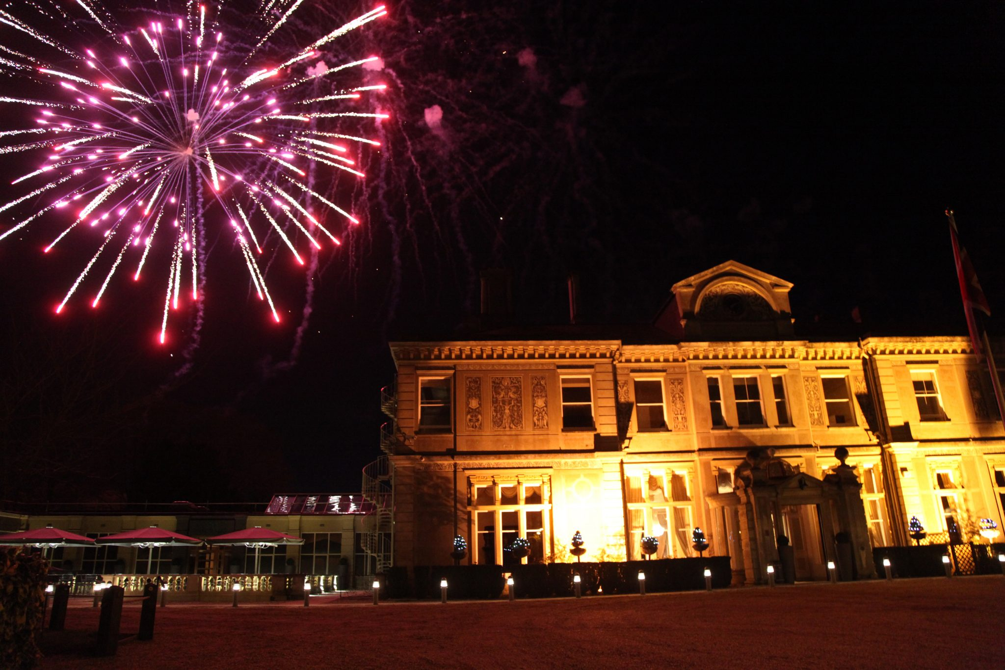 Fireworks, Down Hall.