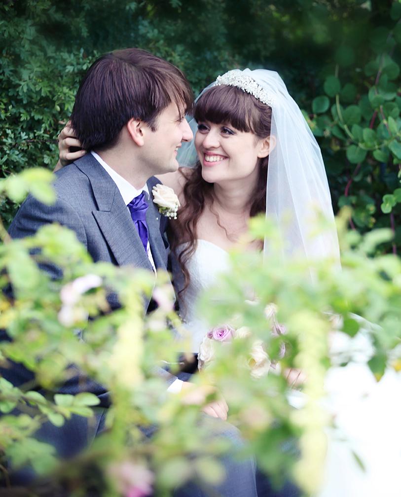 Hatfield House Bride and Groom