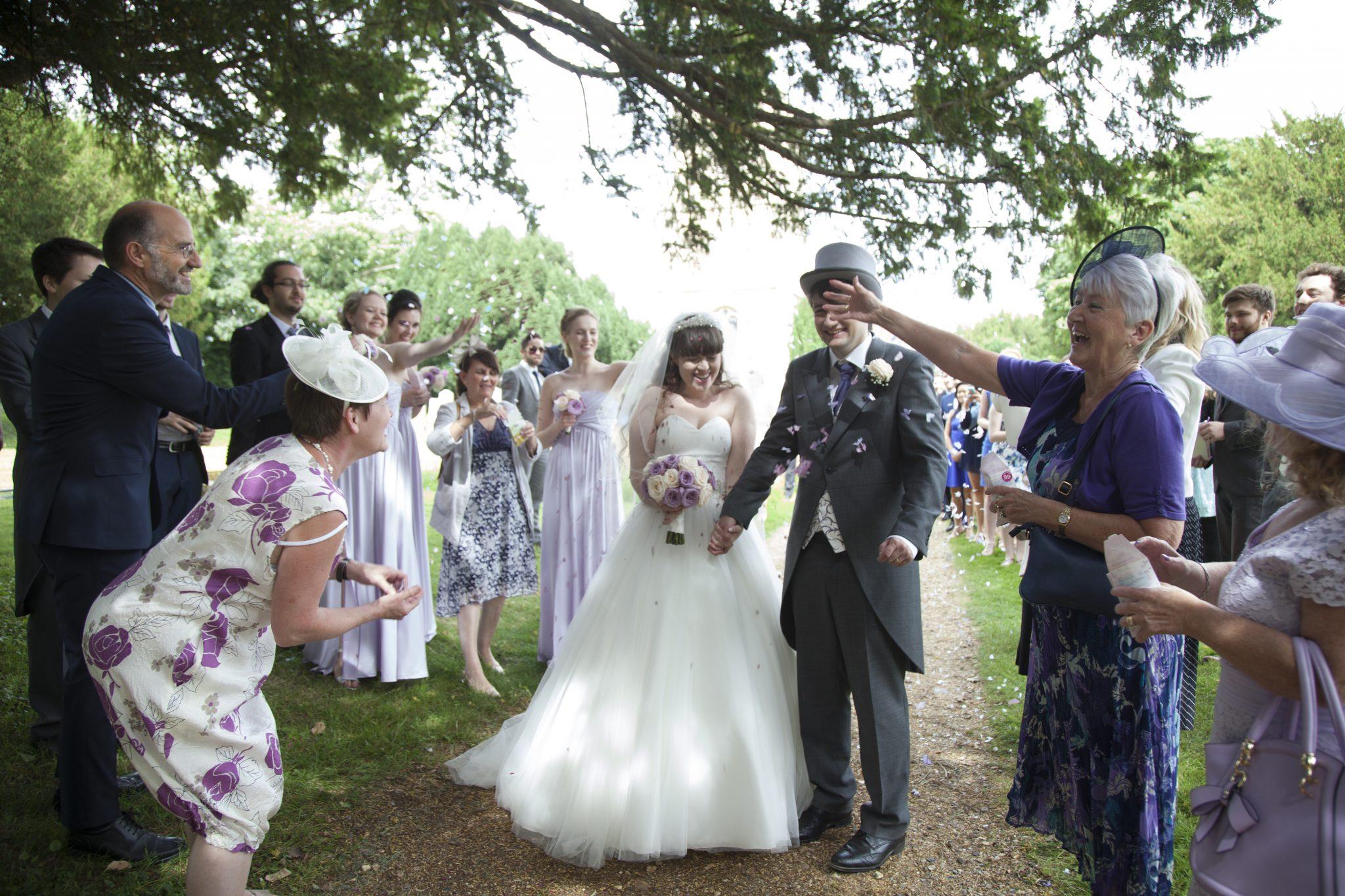 Wedding Confetti, St Mary's Hertingfordbury