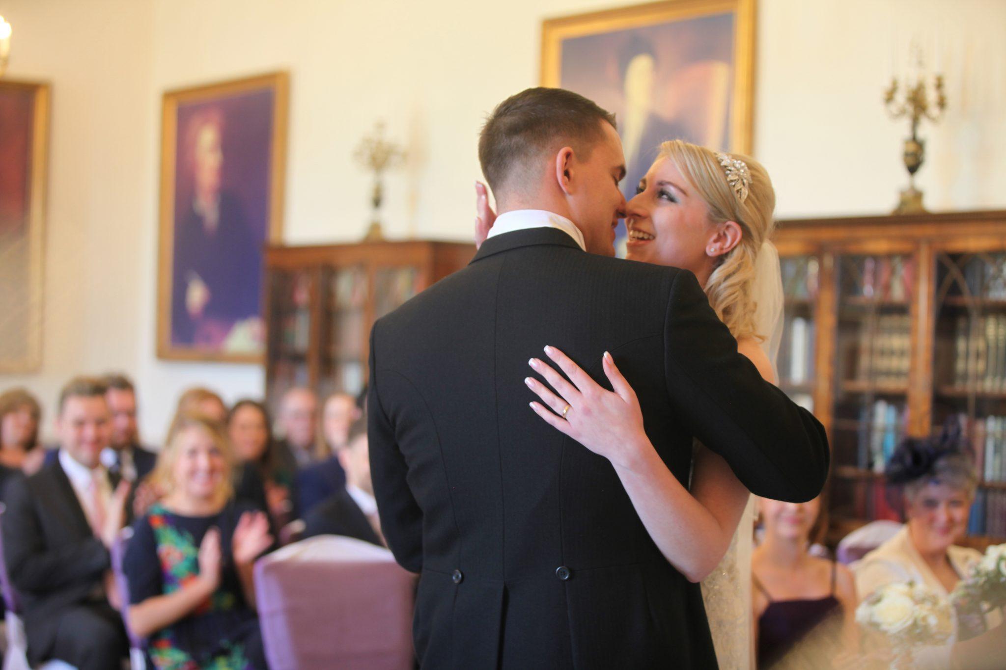 Down Hall Wedding Ceremony