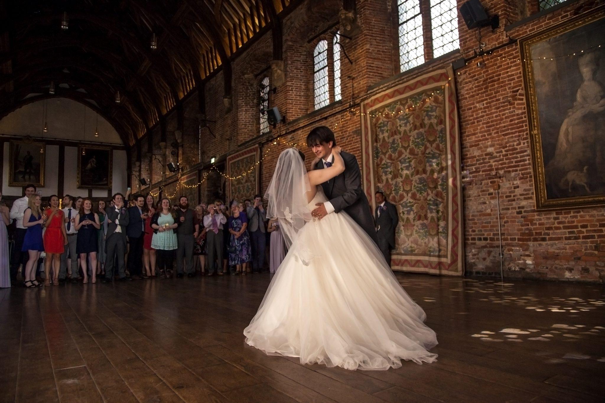 First dance, Hatfield House
