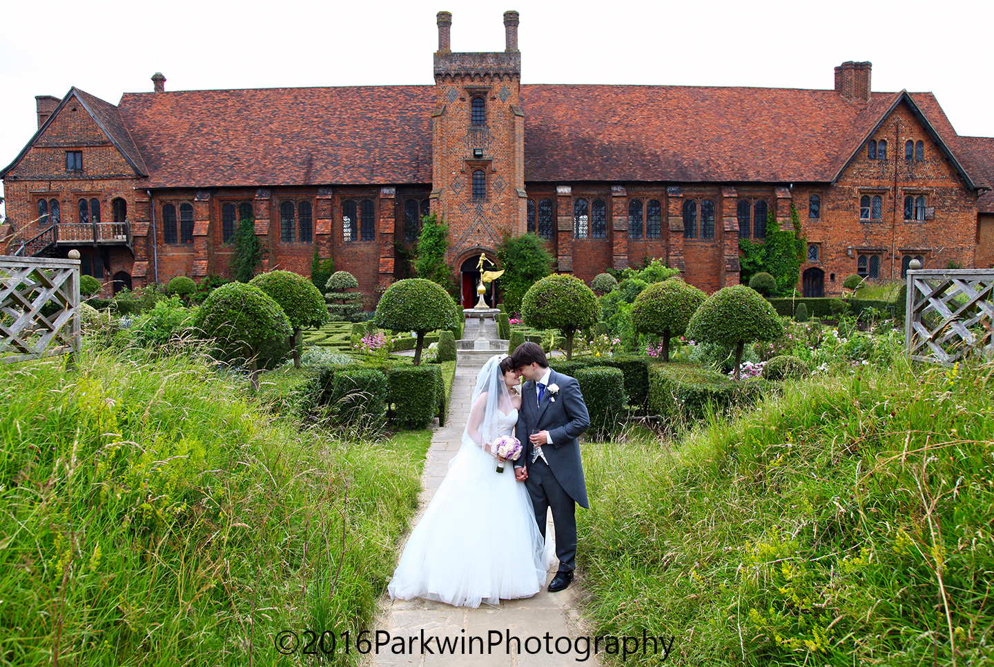 Bride and Groom, Hatfield House