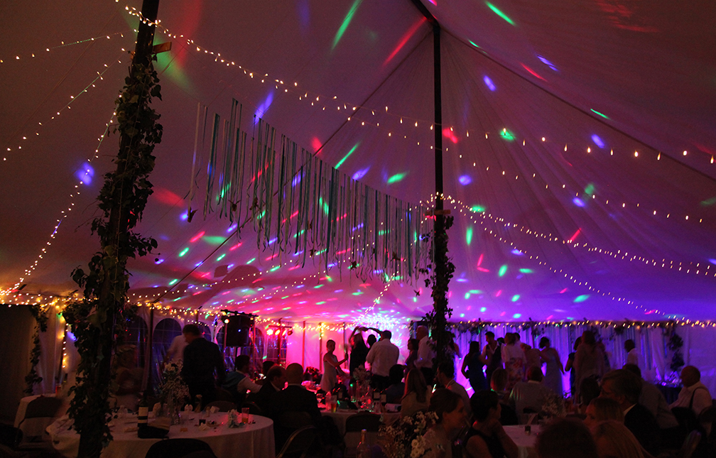 Marquee at Haileybury
