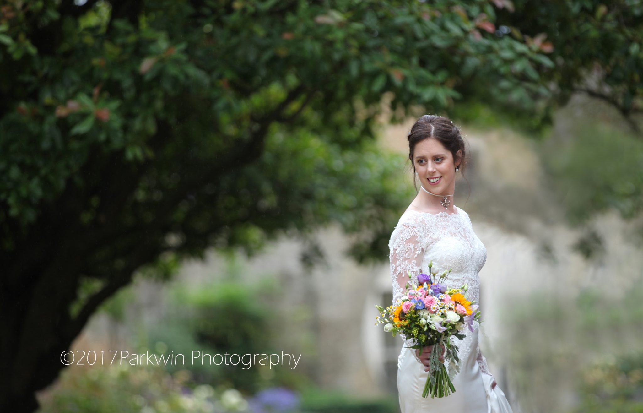 bride at Hanbury Manor